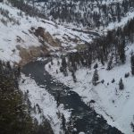Snowy Mountains - winter things to do in Yellowstone