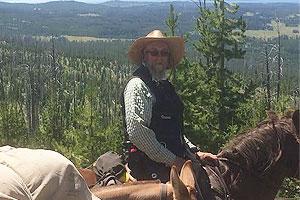 Pete Delzer - Yellowstone Horseback Riding Guide