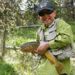 Proud Fisherman - Fly Fishing in yellowstone