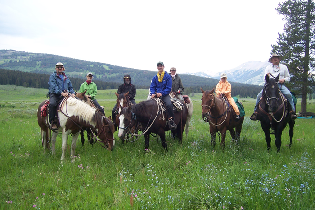 Group of Riders